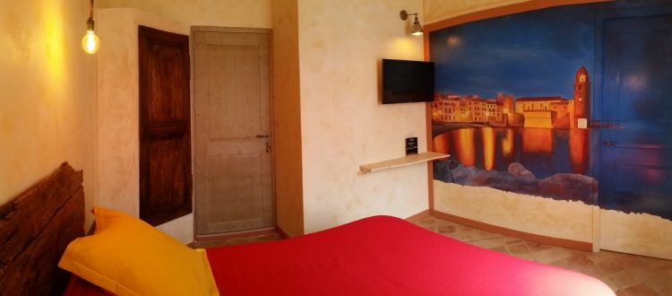 Panorama chambre Collioure