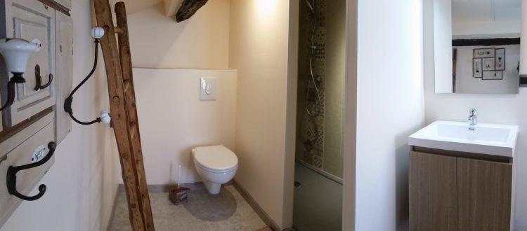 Salle d'eau chambre Canigou