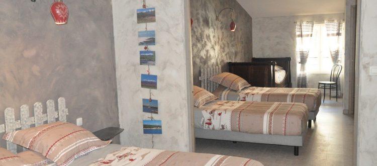 La chambre familiale 45m²