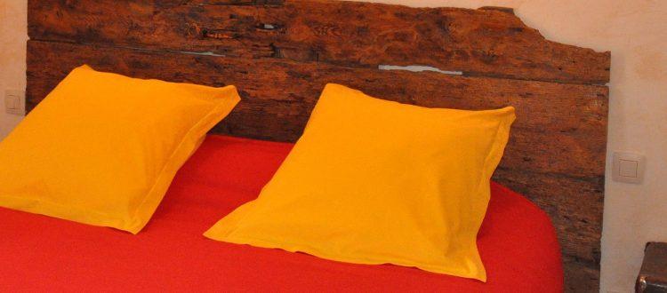 Tête de lit de la chambre Collioure