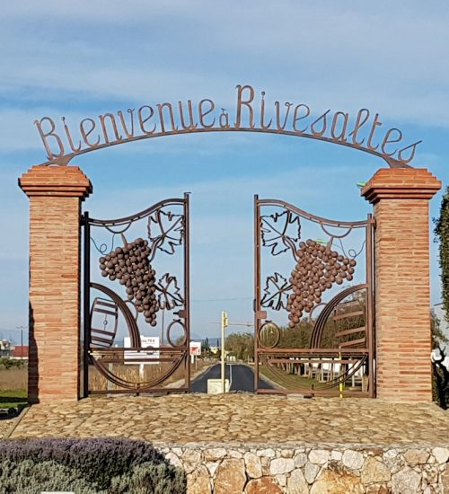 Portail d'entrée de Rivesaltes