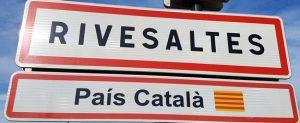 Panneau d'entrée Rivesaltes