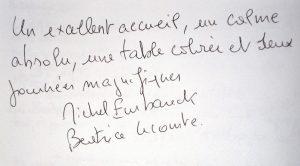 Commentaire Béatrice LECOUTRE