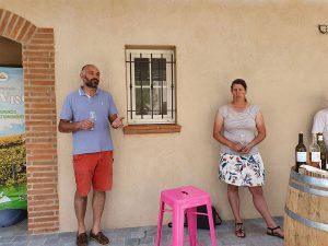 Chambre d'hote dégustation muscat oenotourisme Rivesaltes 66